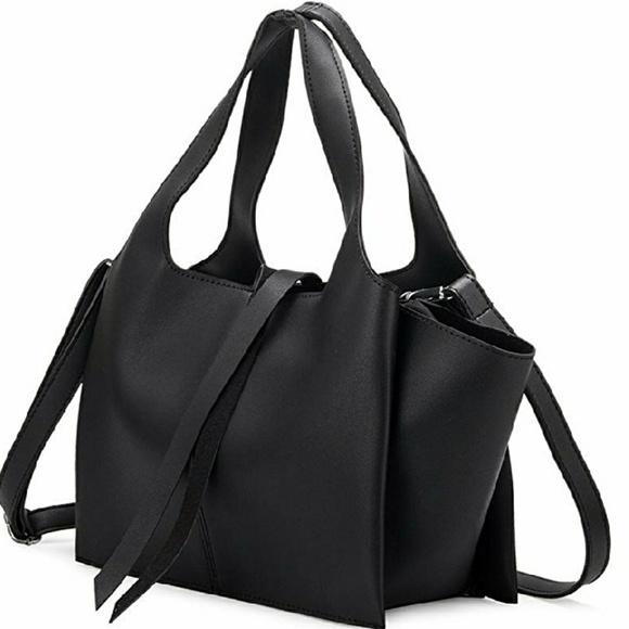 2f01bbd00f Melie Bianco Bags | Suzette Vegan Leather Satchel | Poshmark
